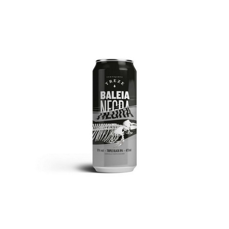 Treze Baleia Negra Lata 473ml Triple Black IPA