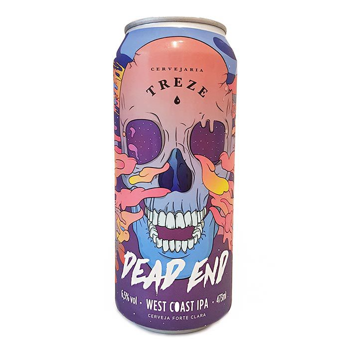 Treze Dead End Lata 473ml West Coast IPA