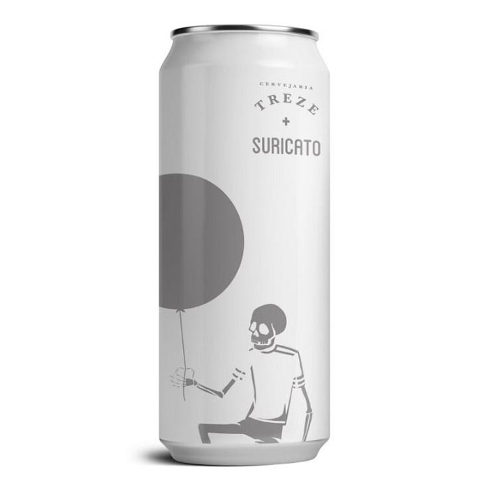 Treze & Suricato Bubble Brut Ipa  2.0 473ml