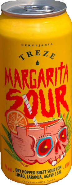 Treze Margarita Sour Lata 473ml