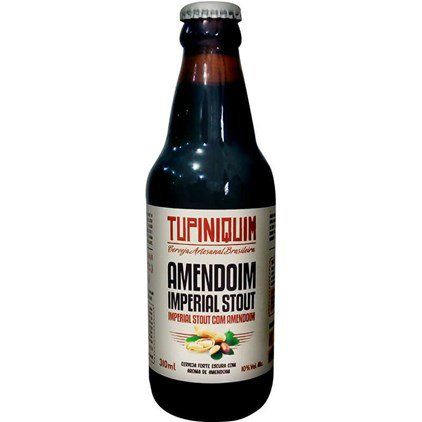 Tupiniquim Amendoin Stout  310ml Imperial Stout