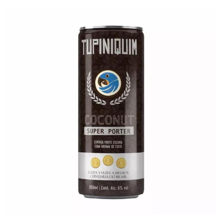 Tupiniquim Coconut Super Porter  Lata 350ml