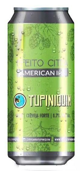 Tupiniquim Efeito Citra Lata 473ml American IPA