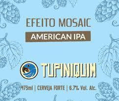 Tupiniquim Efeito Mosaic  Lata 350ml  american Ipa