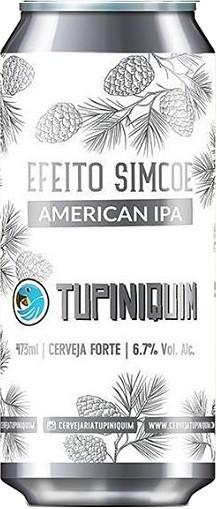 Tupiniquim Efeito Simcoe Lata 473ml American IPA