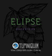 Tupiniquim Elipse 350ml Black Rye IPA