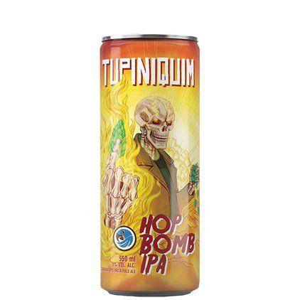 Tupiniquim Hop Bomb IPA Lata 350ml
