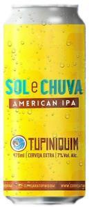 Tupiniquim Sol e Chuva Lata 473ml American IPA