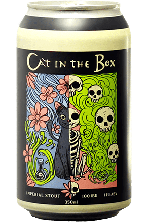 Urbana Cat in The Box Lata 350ml Imperial Stout