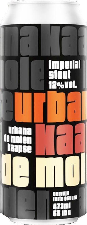 Urbana / Kaapse / De Molen Imperial Stout Lata 473ml