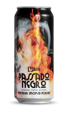 Urbana Passado Negro Lata 473ml Imperial Smoked Porter