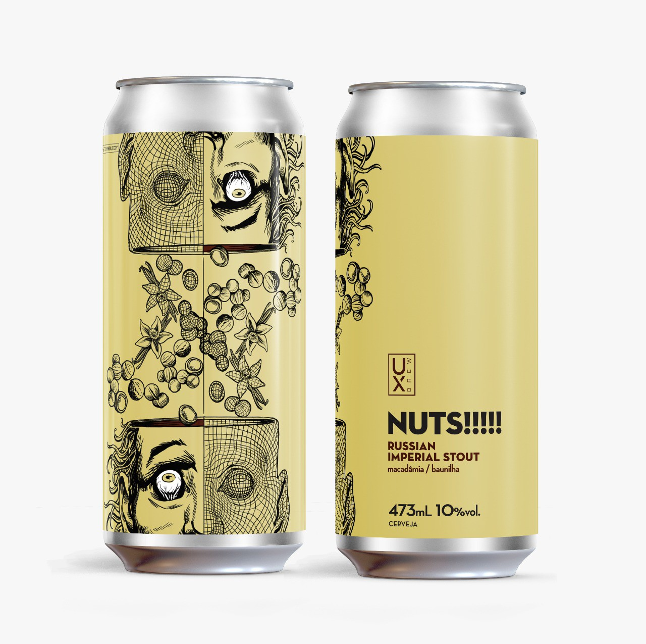 UX Brew Nuts!!!!!! RIS Lata 473ml