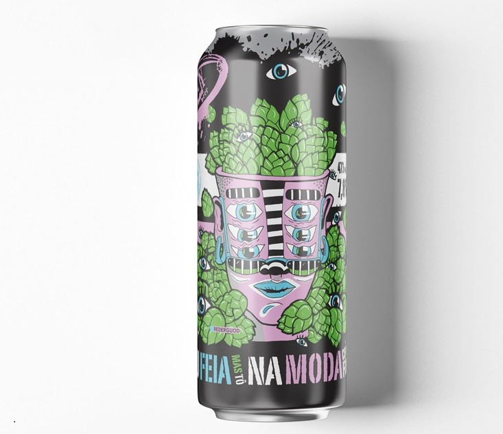 Way Sou Feia Mas To Na Moda Lata 473ml NE IPA