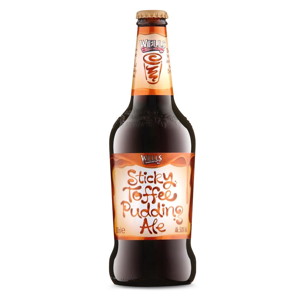 Wells Sticky Toffee Pudding Ale 500ml Brown Ale