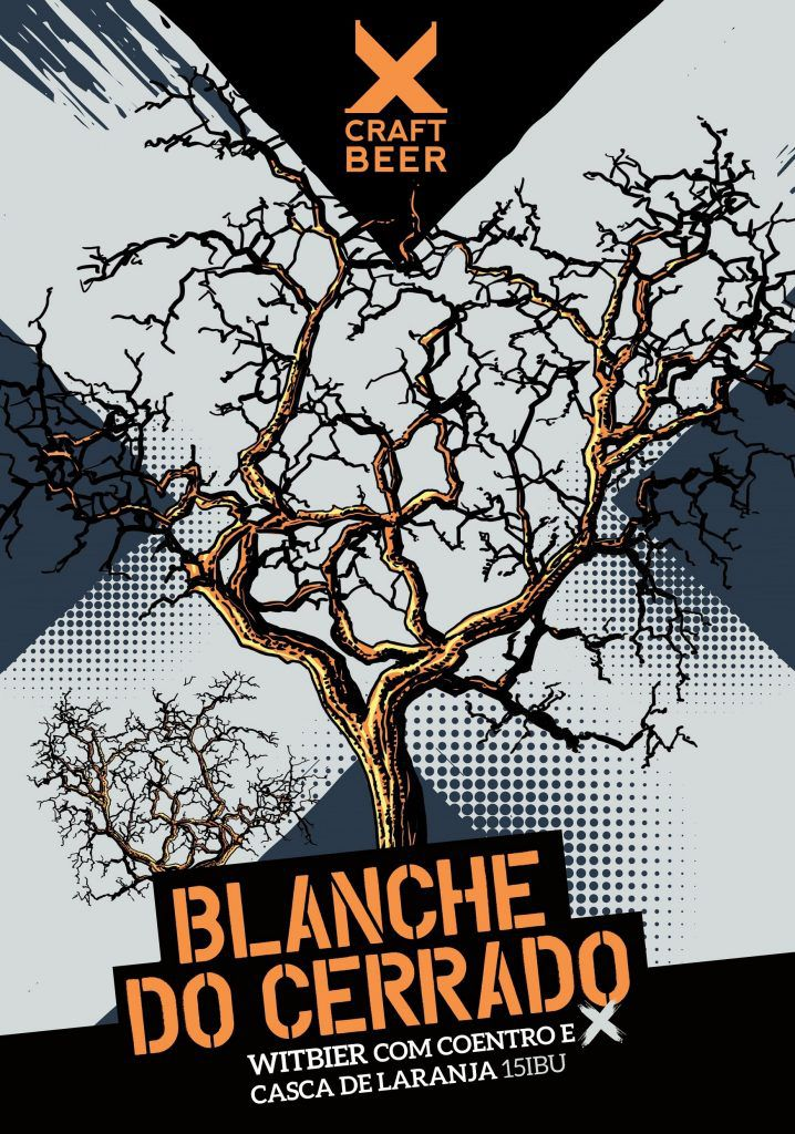 X Craft Blanche do Cerrado Witbier 500ml