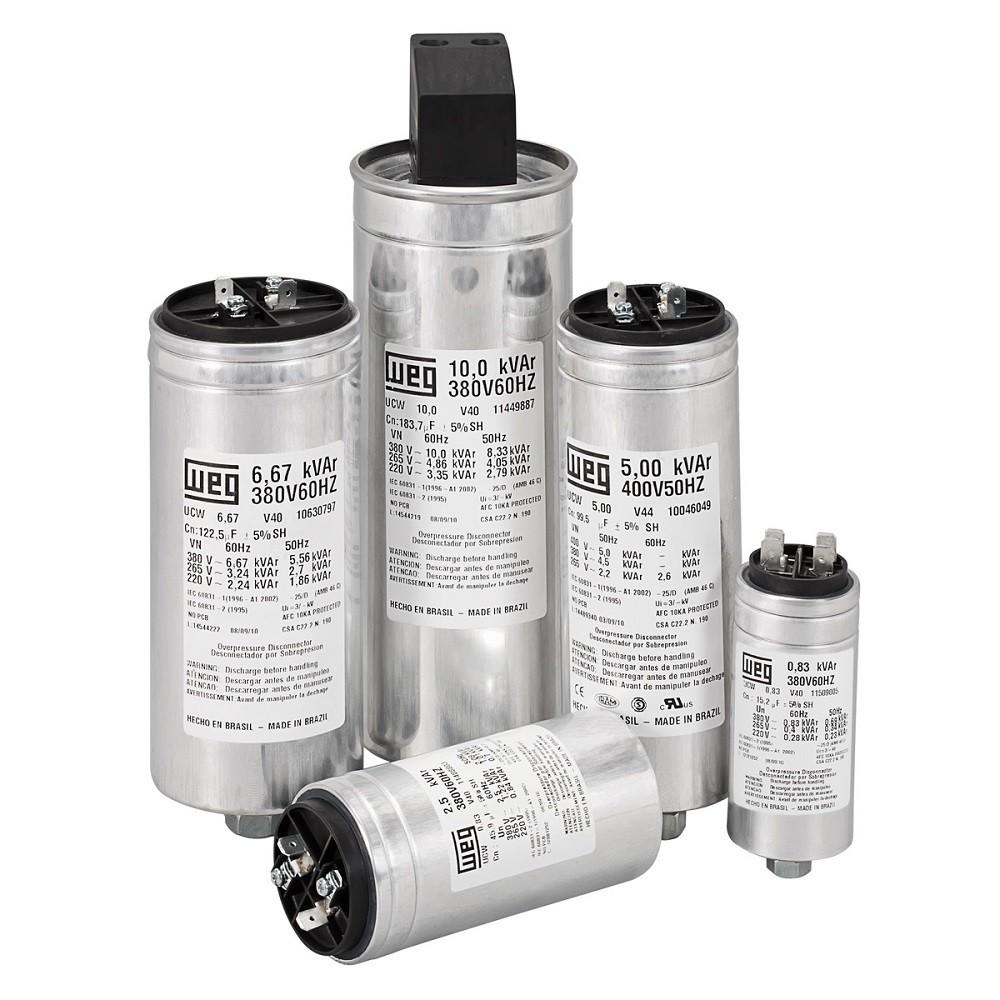 Capacitor Monofásico 5Kvar 220V UCW WEG