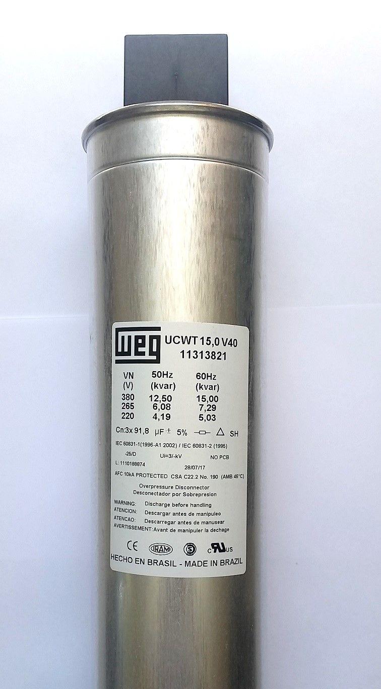 Capacitor Trifásico 15Kvar 380V UCW WEG