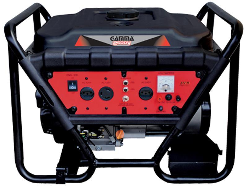 Gerador de Energia a Gasolina Gamma