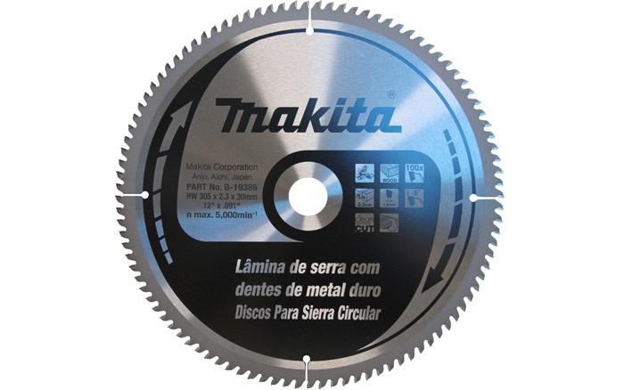 Lâmina de Serra 305mm p/ Madeira B-19386 Makita