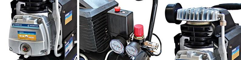 Motocompressor de ar 24L 220V Hyundai