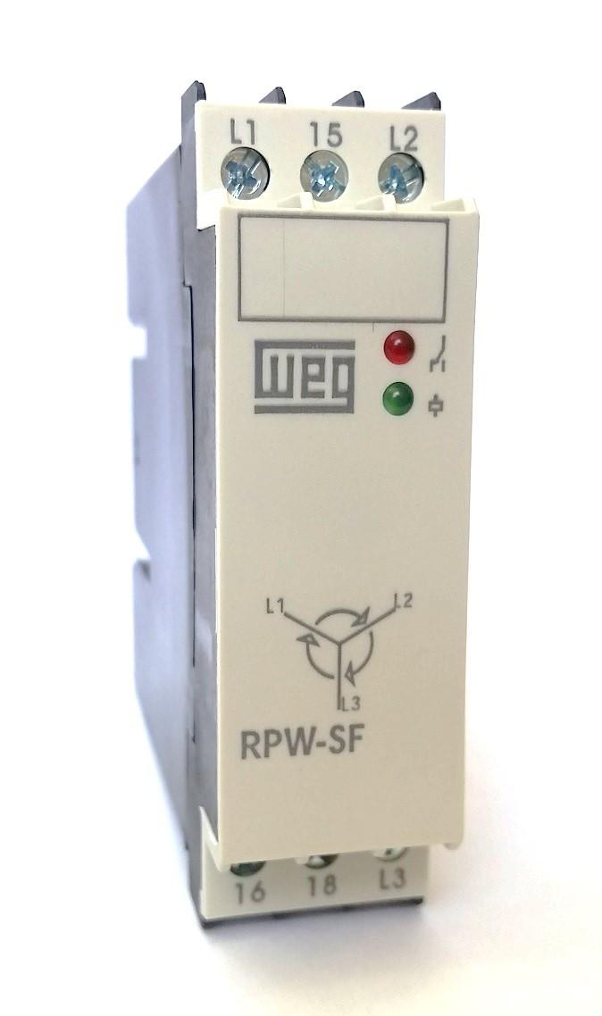 Relé de Proteção Sequência de Fase RPW-SF WEG