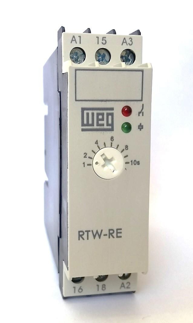 Relé Eletrônico Temporizador Retardo 1S-10S 220V WEG