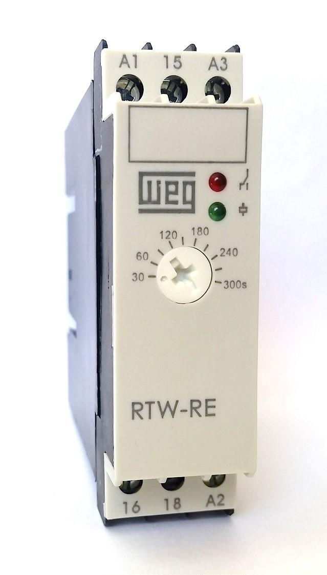 Relé Eletrônico Temporizador Retardo 30S-300S 220V WEG