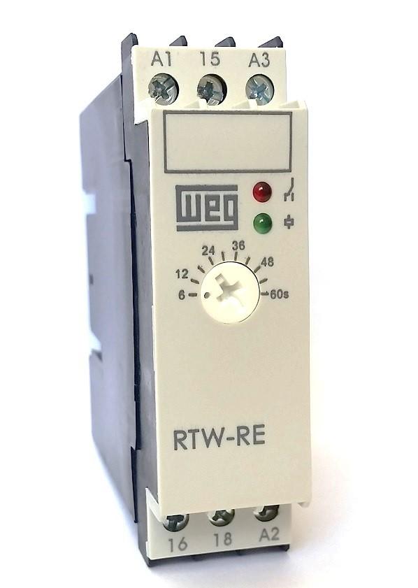 Relé Eletrônico Temporizador Retardo 6S-60S 220V WEG