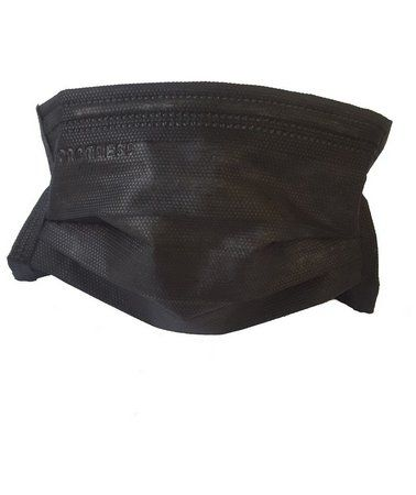 Mascara tripla com elástico - Preta Protdesc - Pct c/50 unidades