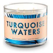 Vela 3 pavios - Turquiose Waters