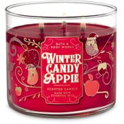 Vela 3 Pavios - Winter Candy Apple