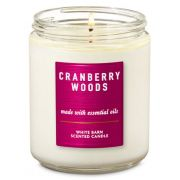 Vela Pavio Simples - Cranberry Woods