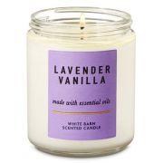 Vela Pavio Simples - Lavender & Vanilla