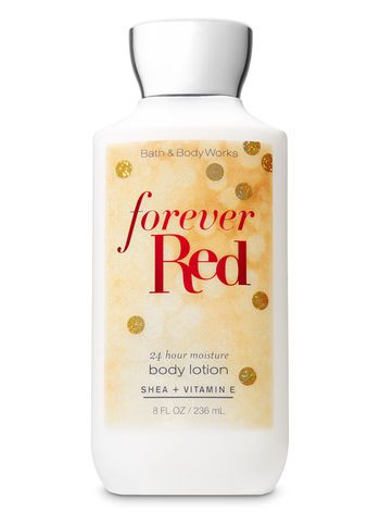 Body Lotion - Forever Red (Super Smooth)