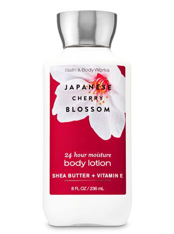 Body Lotion - Japanese Cherry Blossom (Super Smooth)