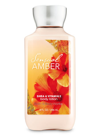 Body Lotion - Sensual Amber (Super Smooth)