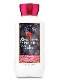 Body Lotion - Strawberry Pound Cake (Super Smooth)