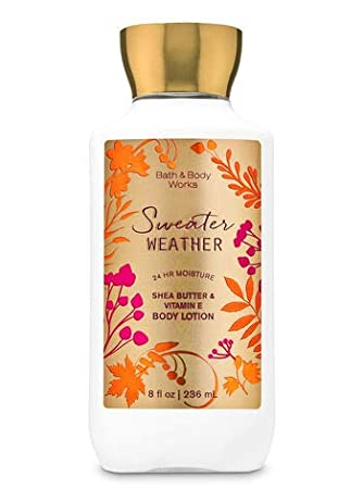Body Lotion - Sweather Weather (Super Smooth)