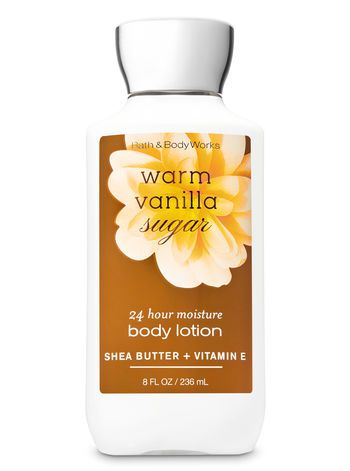 Body Lotion - Warm Vanilla Sugar (Super Smooth)