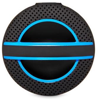 Difusor Scentportable Preto Soft Touch com detalhe Azul