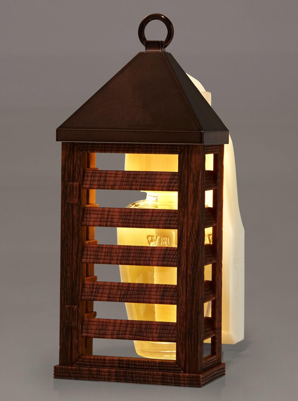 Difusor Wallflowers - Lanterna de Madeira (Night Light)