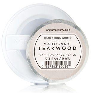 Refil SCENTPORTABLE - Mahogany Teakwood