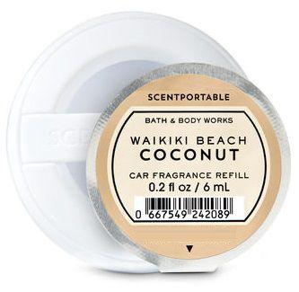 Refil SCENTPORTABLE - Waikiki Beach Coconut