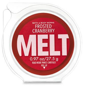 Refil Wax Melt - Frosted Cranberry