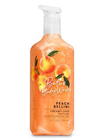 Sabonete Creamy Luxe - Peach Bellini