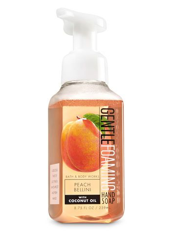 Sabonete Em Espuma - Peach Bellini