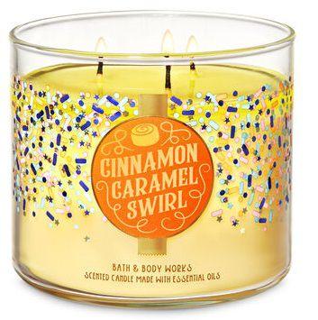 Vela 3 Pavios - Cinnamon Caramel Swirl