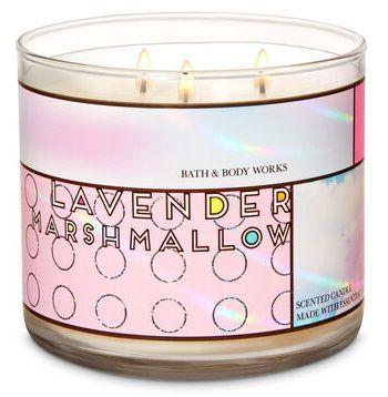 Vela 3 Pavios - Lavender Marshmallow