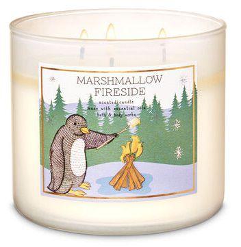 Vela 3 Pavios - Marshmallow Fireside