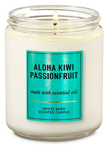 Vela Pavio Simples - Aloha Kiwi Passionfruit